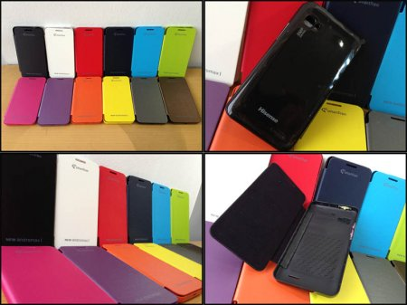 Flip Cover Case Smartfren New Andromax-i