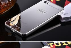 Mirror Metal Slide Hard Case Huawei Honor 6